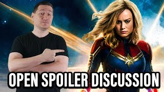 Captain Marvel Open Spoiler Discussion