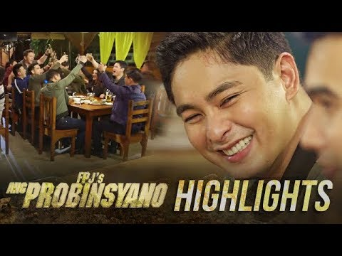 Cardo celebrates his promotion with his colleagues | FPJ's Ang Probinsyano
