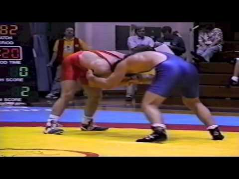 1995 World Cup: 82 kg Roustam Kelekhsaev (RUS) vs. Justin Abdou (CAN)
