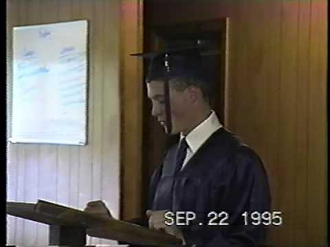 New Dominion School Graduation Sept 1995 3/6