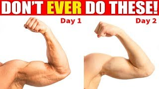 10 Muscle Building Mistakes (GAINS KILLERS)