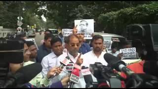 Odisha loka dala program against MP pyari mohan mohapatra