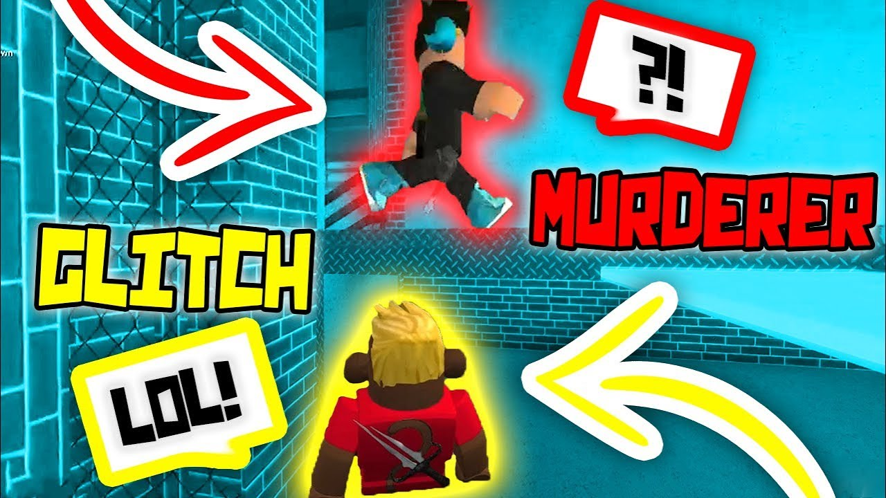 I Found A Glitch In The New Roblox Murder Mystery 2 Map Youtube