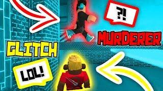 I FOUND A GLITCH IN THE NEW ROBLOX MURDER MYSTERY 2 MAP!!