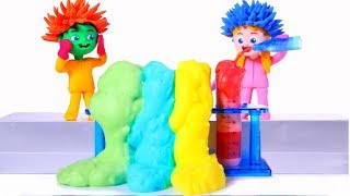 Kids Doing Science Experiments ❤ Cartoons For Kids