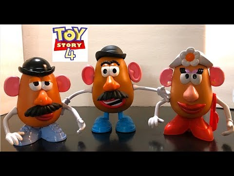 Toy Story 4 Mr And Mrs Potato Head Review Youtube