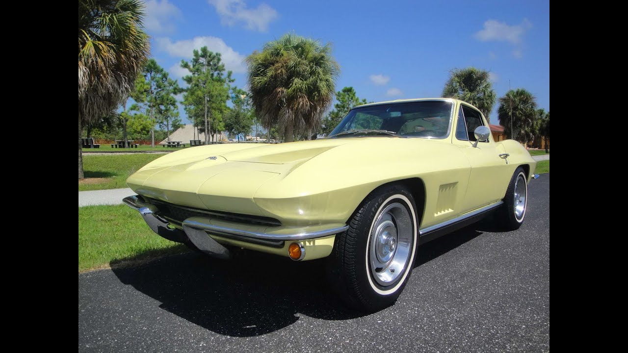 National Corvette Museum >> 1967 Sunfire Yellow Coupe, Auto, AC... @ THE VETTE NET