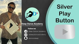 Silver Play Button - Unboxing video | Deep Dance Academy