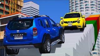 Sevilen SUV Arabalar İnşaat Parkuruna Tırmanıyor