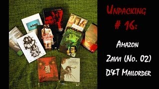Unpacking #16 Amazon, Zavvi (No. 2) & D&T Mailorder