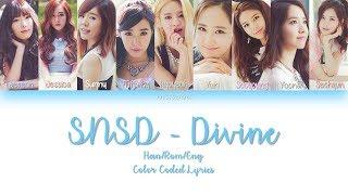 Gambar cover Girls' Generation (少女時代)  SNSD - Divine JAP/ROM/ENG