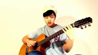Tâm Sự Đời Tôi (Cover Virginia Nguyen - Bé Mẫn) Guitar Solo