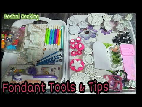 Basic Tools For Decorating Fondant Cake How To Use Clay Modelling ToolTypes Of Modelling Tools|