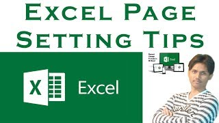 Microsoft Excel Page Setting or Page Setup Tips Tutorial In Urdu / Hindi