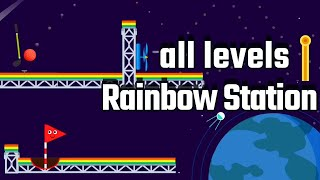 Happy Golf Chapter 6 Rainbow Station Level 91-108