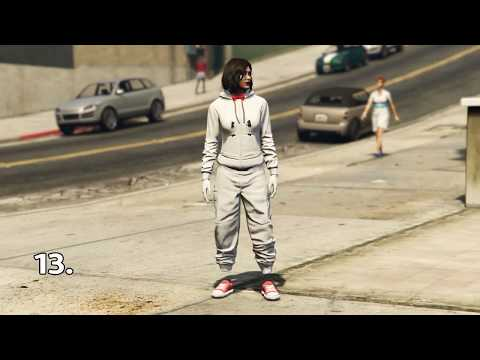 GTA5 | 13 Female Full Component ONLY Outfits (components in description!!)