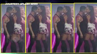 (VIDEO) Ariana Grande KISSES Dancer-Boyfriend Ricky Alvarez On Stage During Performance