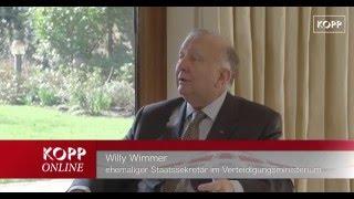 Im Gespräch mit dem CDU-Politiker Willy Wimmer.