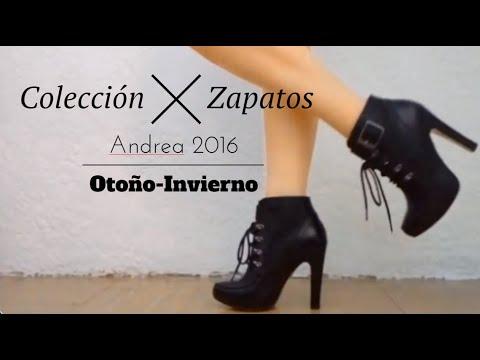 acd762e7 Colección Zapatos Andrea 2016 Otoño - Invierno / Shoe Collection Fall-  Winter