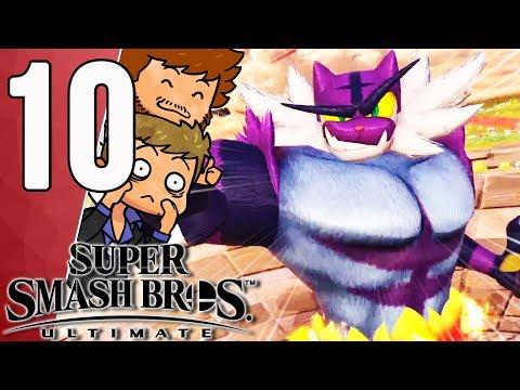ÇA FAIT MAL PAR OÙ ÇA PASSE 😭 | Super Smash Bros Ultimate Ep.10