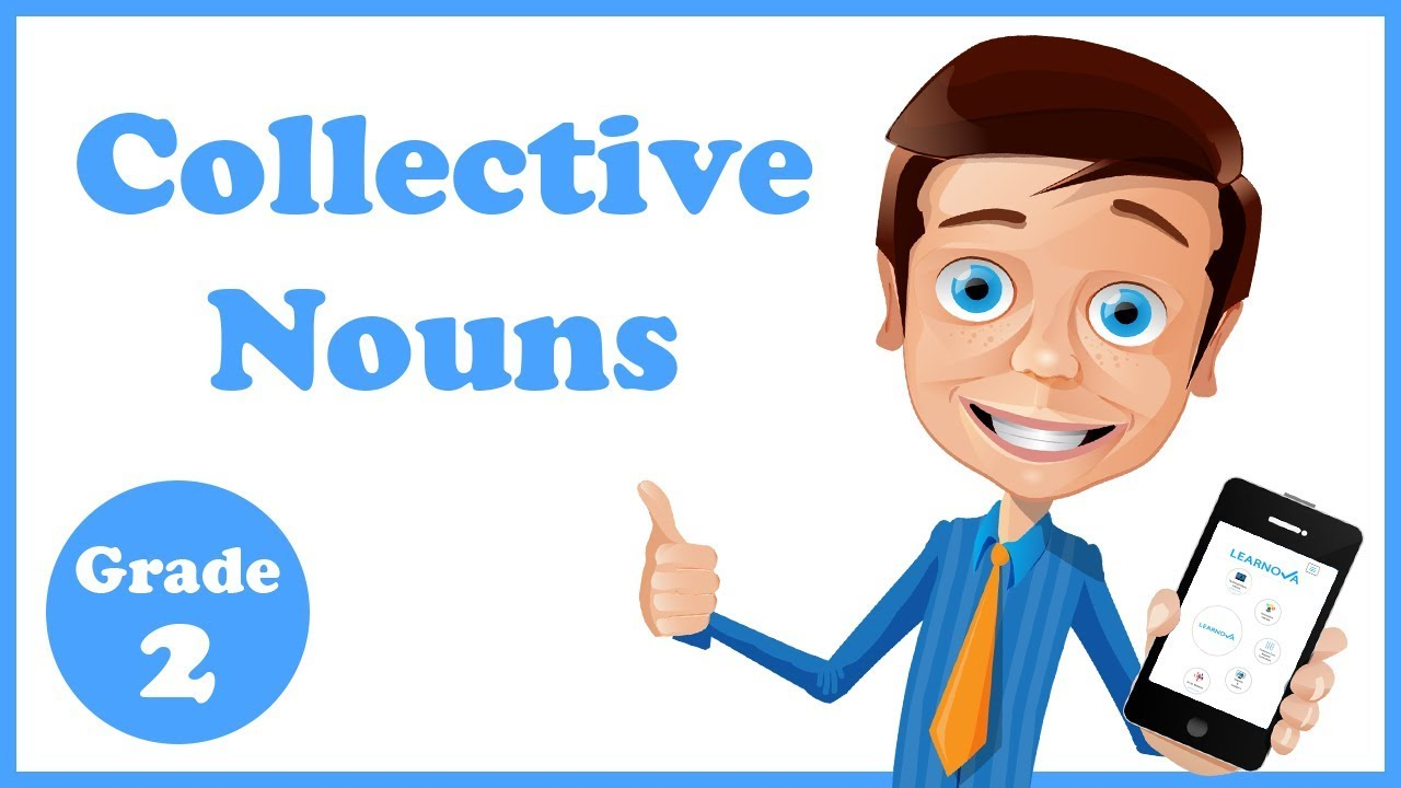 small resolution of Grade 2 - Collective Nouns - YouTube
