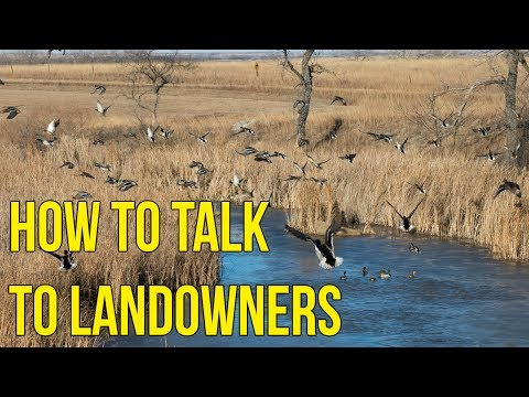 How To Ask Landowners For Permission To Hunt