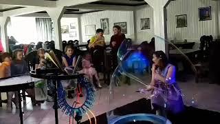 видео Шоу Мыльных Пузырей в Нижневартовске