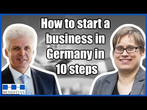 How to start a business in Germany in 10 steps