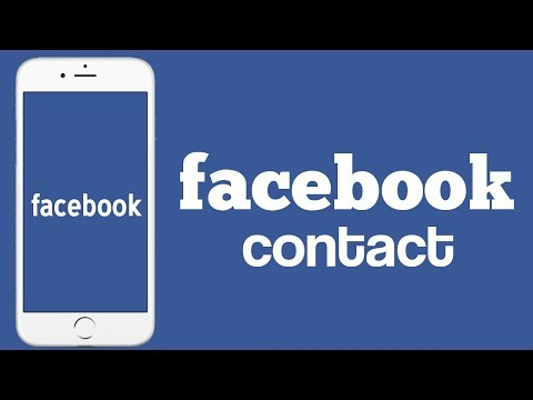 how to contact facebook about a problem/how to contact faceb