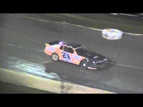 Crowley's Ridge Raceway 9/26/15 #21 Chris Sims Street Stock Feature Race