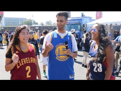 Are You Even a Fan: 2017 NBA Finals Fans (LOYAL or BANDWAGONS)