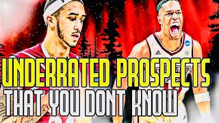 UNDERRATED 2020 NBA DRAFT PROSPECTS THAT YOU DON'T KNOW?!?! (part 2)