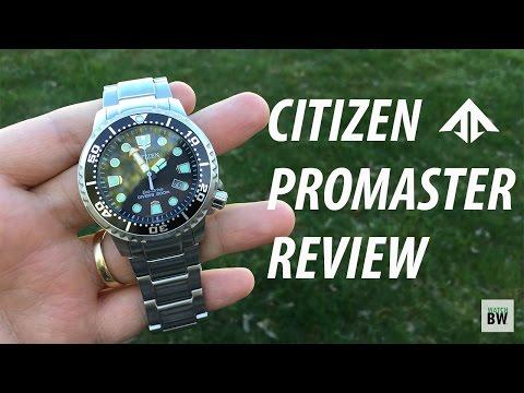 Citizen Promaster Marine 200 Review - BN0156-56E