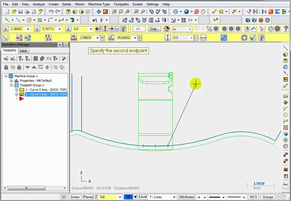 mastercam 5 axis programming pdf