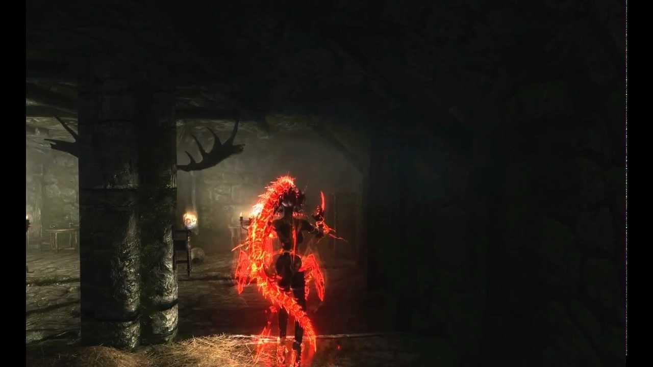 Skyrim Celestial Vampire Devillord Youtube