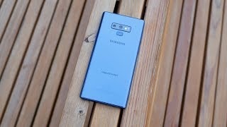 Samsung Galaxy Note 9 one week later - New King?