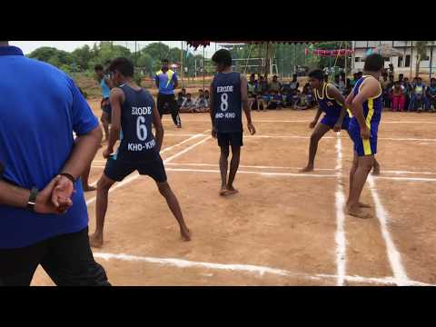 13th Junior State Atya Patya Championship, Chennai vs Erode Set1