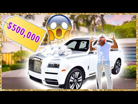 Surprising my Husband with His DREAM CAR *Early Anniversary Gift* | The Beverly Halls