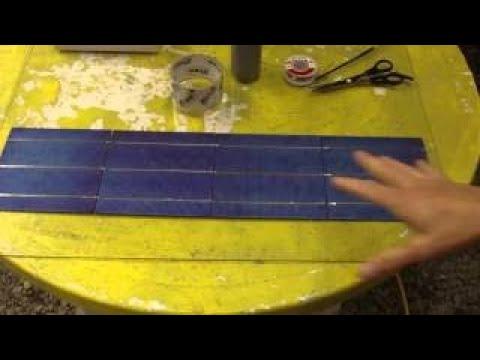 Homemade Solar Panels Diy Tutorial Smart Solar
