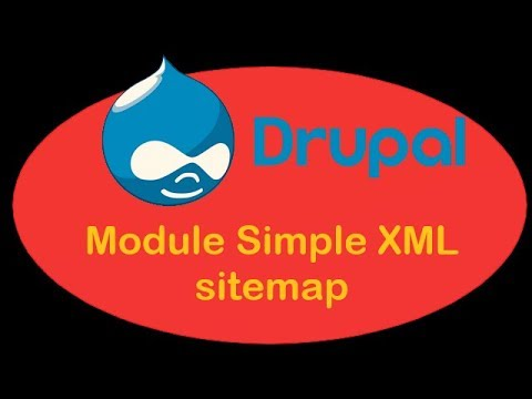 drupal 8 4 ii 08 module simple xml sitemap youtube