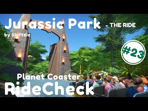 RideCheck #23 | Jurassic Park - The Ride By Shiftzie | Planet Coaster