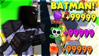 BATMAN REVIENT POUR PROTÉGER LA VILLE ! (ROBLOX POWER SIMULATOR)