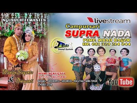 Live Streaming//CS. SUPRA NADA //BAP  SOUND// DIAN PICTURES//LIVE  MBATANG, SIDOKERTO, MAGETAN