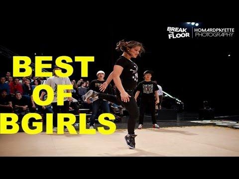 Best of bgirls   Break The Floor 2014