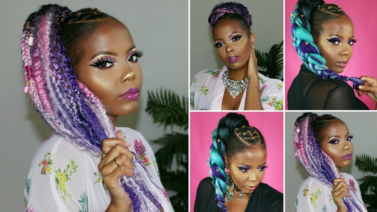3 hair easy rubber band hairstyles