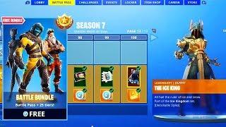 3 EASY ways to unlock Free Season 7 Battle Pass in Fortnite!