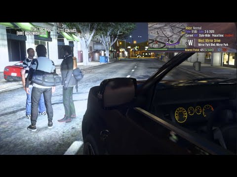 GTA 5 RP - FIRST TIME In (FAKE) RedLine RP!! These Guys SAVE ME!!