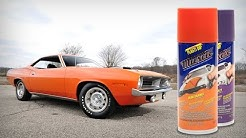 Classic Muscle Car Colors - Product Showcase
