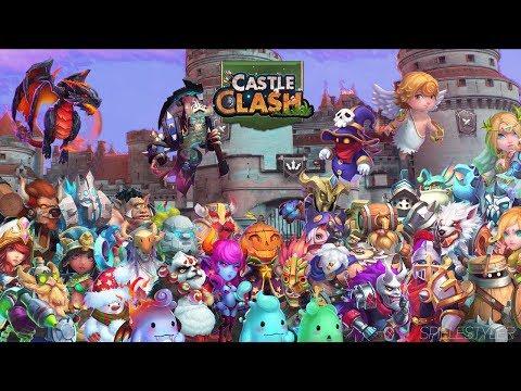 Castle Clash: Youtuber Netzwerk Und 5er Erquicken Auf Sas