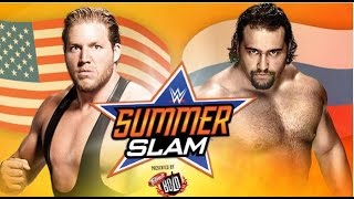 WWE SummerSlam 2014 Jack Swagger vs Rusev Flag Match pg